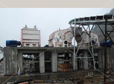 贵州安顺石灰石石料生产线