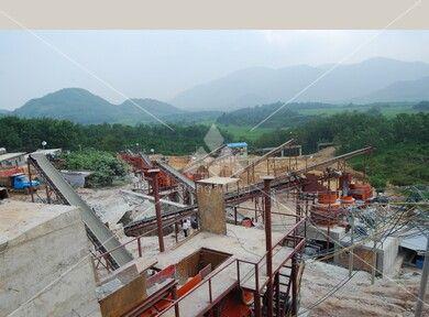 海南三亚花岗岩石料生产线