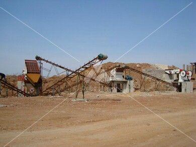 辽宁营口石灰石石料生产线