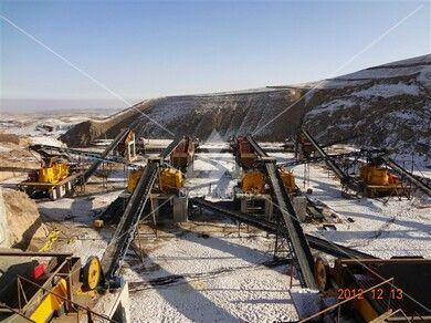 宁夏铁矿石破碎生产线