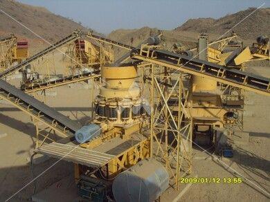 沙特花岗岩砂石生产线