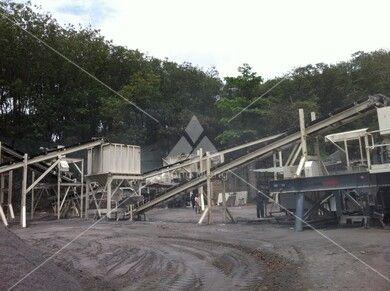 斯里兰卡花岗岩石料生产线