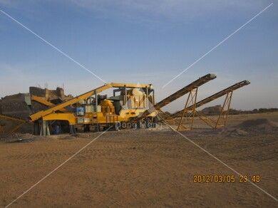 苏丹移动式花岗岩生产线