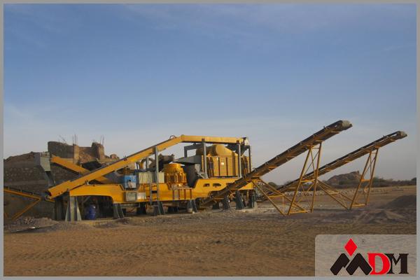 上海东蒙路桥机械有限公司(苏丹移动式花岗岩生产线)
