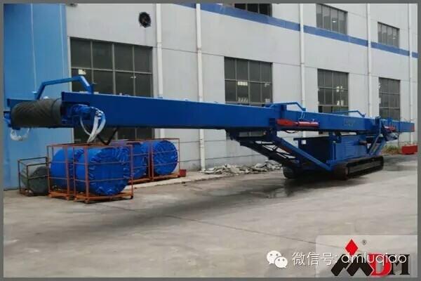 上海东蒙路桥机械有限公司-履带式皮带输送机