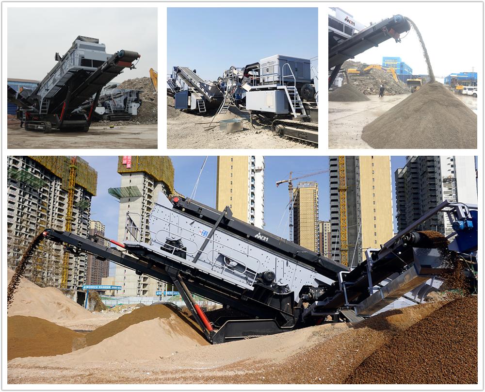 移动石子破碎机生产线,实现移动工程不是梦!