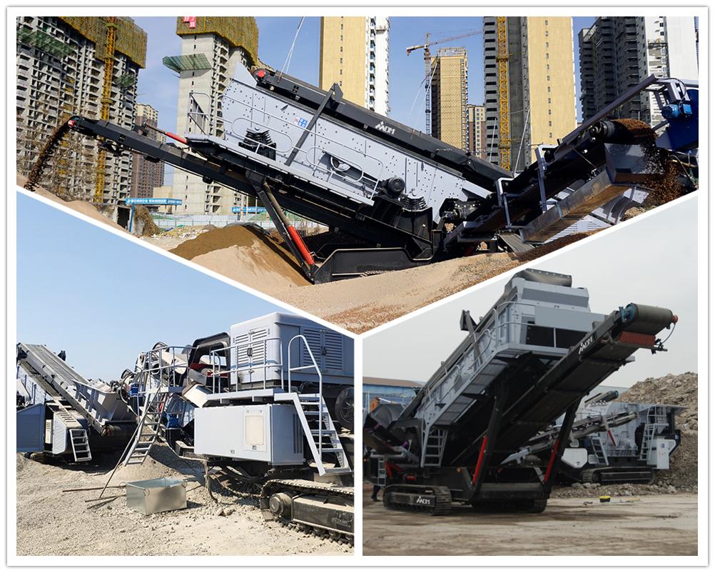 了解一下大型移动式石头破碎机工作原理及构造性能
