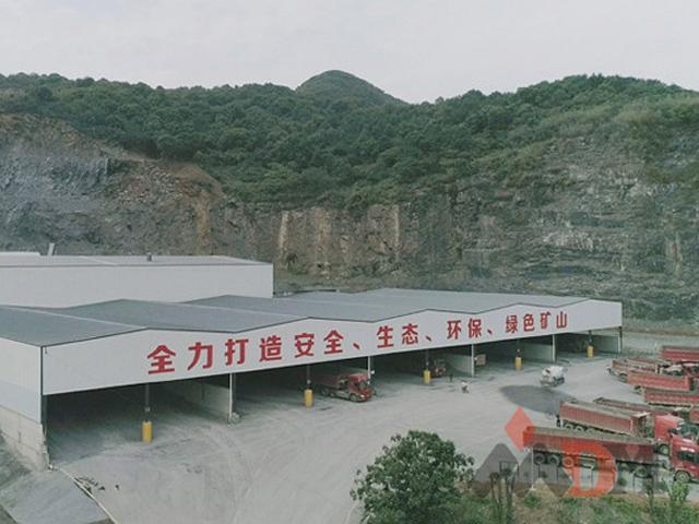 石灰石石料生产线