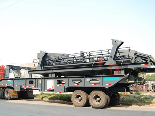 日产10000吨移动式破碎生产线