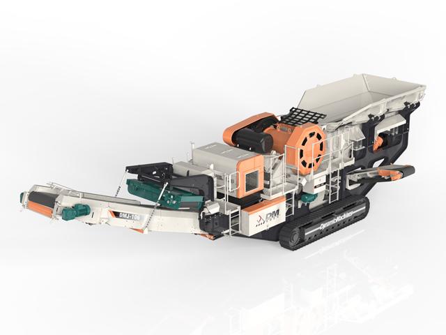 移动式破碎机对比固定式破碎机优势在哪里?